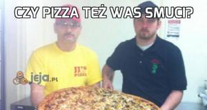 Czy pizza też Was smuci?