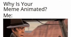 Animowane memy są najlepsze