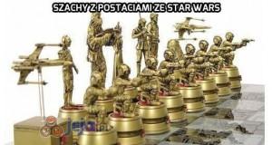 Szachy z postaciami ze Star Wars