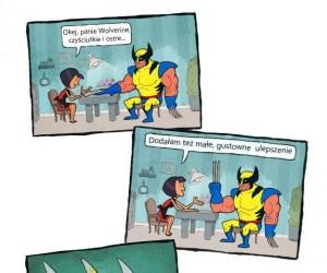 Wolverine i manicure
