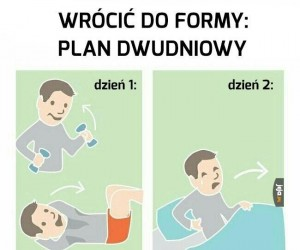 Plan dwudniowy