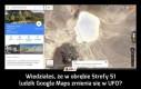 Wiedziałeś, że w obrębie Strefy 51 ludzik Google Maps zmienia się w UFO?