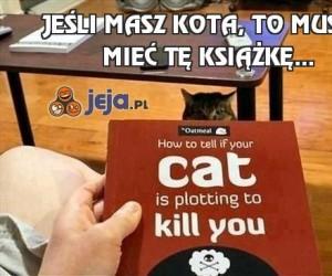 Jeśli masz kota, to musisz mieć tę książkę...