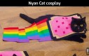 Nyan Cat cosplay