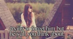 Kiedy powinieneś zapomnieć, ale nie możesz przestać o nim myśleć