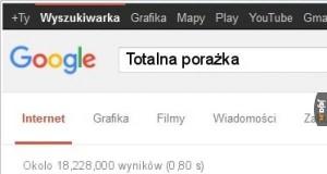 Google bywa wredne