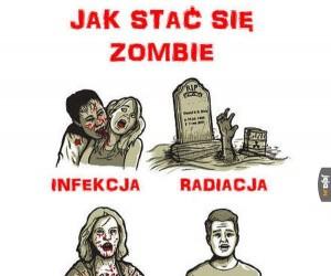Jak stać się zombie