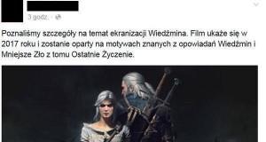Ekranizacja Wiedźmina