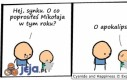 Cyanide & Happiness - Prośba do Mikołaja