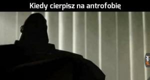Antrofobia - lęk przed kontaktem z ludźmi