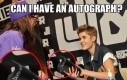 Dasz mi swój autograf?