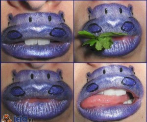 Pocałuj hipopotama