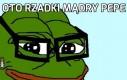 Rzadki mądry Pepe