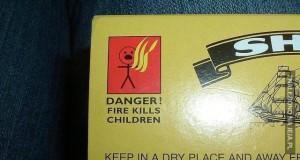 Serio? Ogień zabija dzieci...? Niemożliwe...