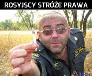 Rosyjscy stróże prawa