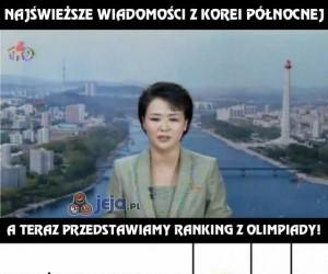 Najświeższe wiadomości z Korei Północnej