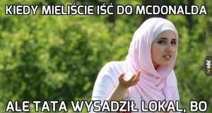 Kiedy mieliście iść do McDonalda