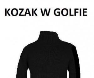 Kozak w golfie