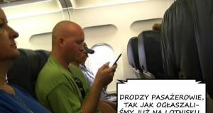 Drodzy pasażerowie...