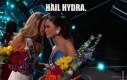Co Miss USA szepnęła do Miss Filipin