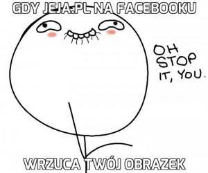 Gdy Jeja.pl na Facebooku