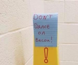 Nie tańczyć na bekonie