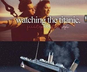 Oglądanie Titanica