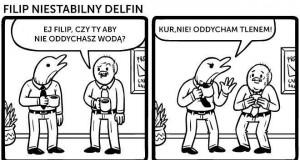 Delfin Filip stanowczo zaprzecza