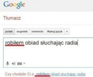 Nieładnie, Google, nieładnie...