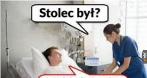 Te szpitalne pytania...