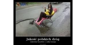 Jakość polskich dróg
