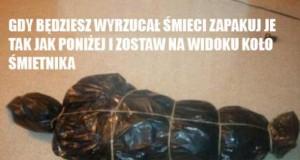 Wyrzucanie śmieci lvl ekspert