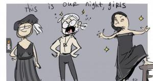 Ta noc jest nasza, dziewczynki!