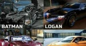 Pojazdy superbohaterów