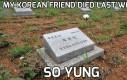Śmierć koreańskiego przyjaciela