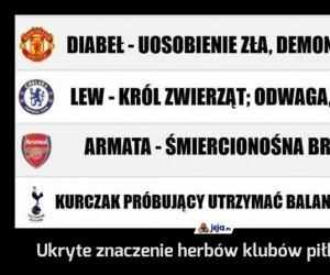 Ukryte znaczenie herbów klubów piłkarskich