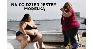 Trudne życie modelki