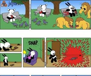 Przygody pechowego króliczka cz 5