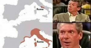 Gdy uczysz się o Rzymie na historii