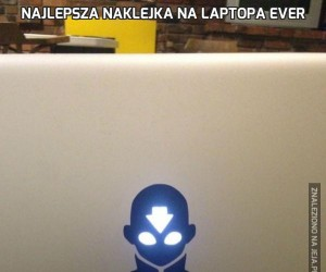 Najlepsza naklejka na laptopa EVER
