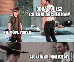 Suchar o archeologu