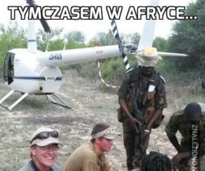 Tymczasem w Afryce...