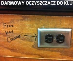 Darmowy oczyszczacz do kluczy