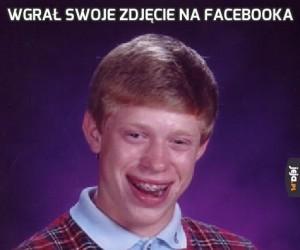 Wgrał swoje zdjęcie na Facebooka