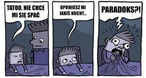 Bedtime paradox