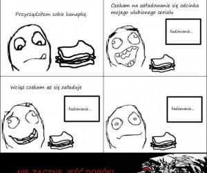 Przyrządzanie kanapki