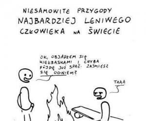 Zajęty ogniem