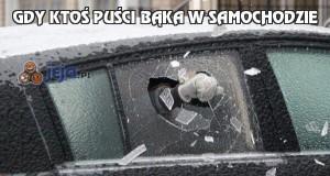 Gdy ktoś puści bąka w samochodzie