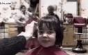 Zawsze, gdy fryzjer skończy pracować nad moją fryzurą...