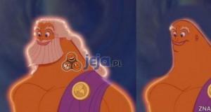 Zeus bez fryzury wygląda dziwnie